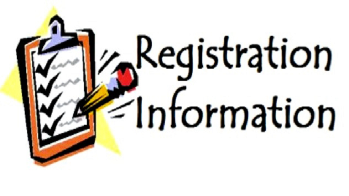 Registration Information For All Students